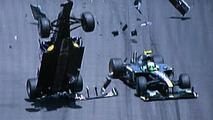 Webber had concussion after Valencia crash
