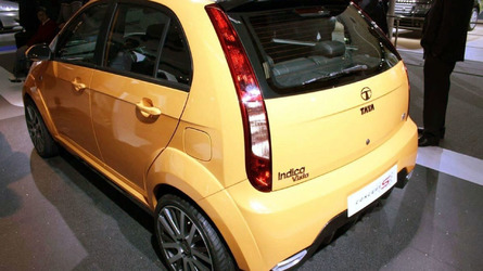 Tata Indica Vista Sport Concept Revealed in New Delhi