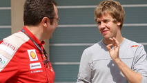 Vettel eyes future switch to Ferrari