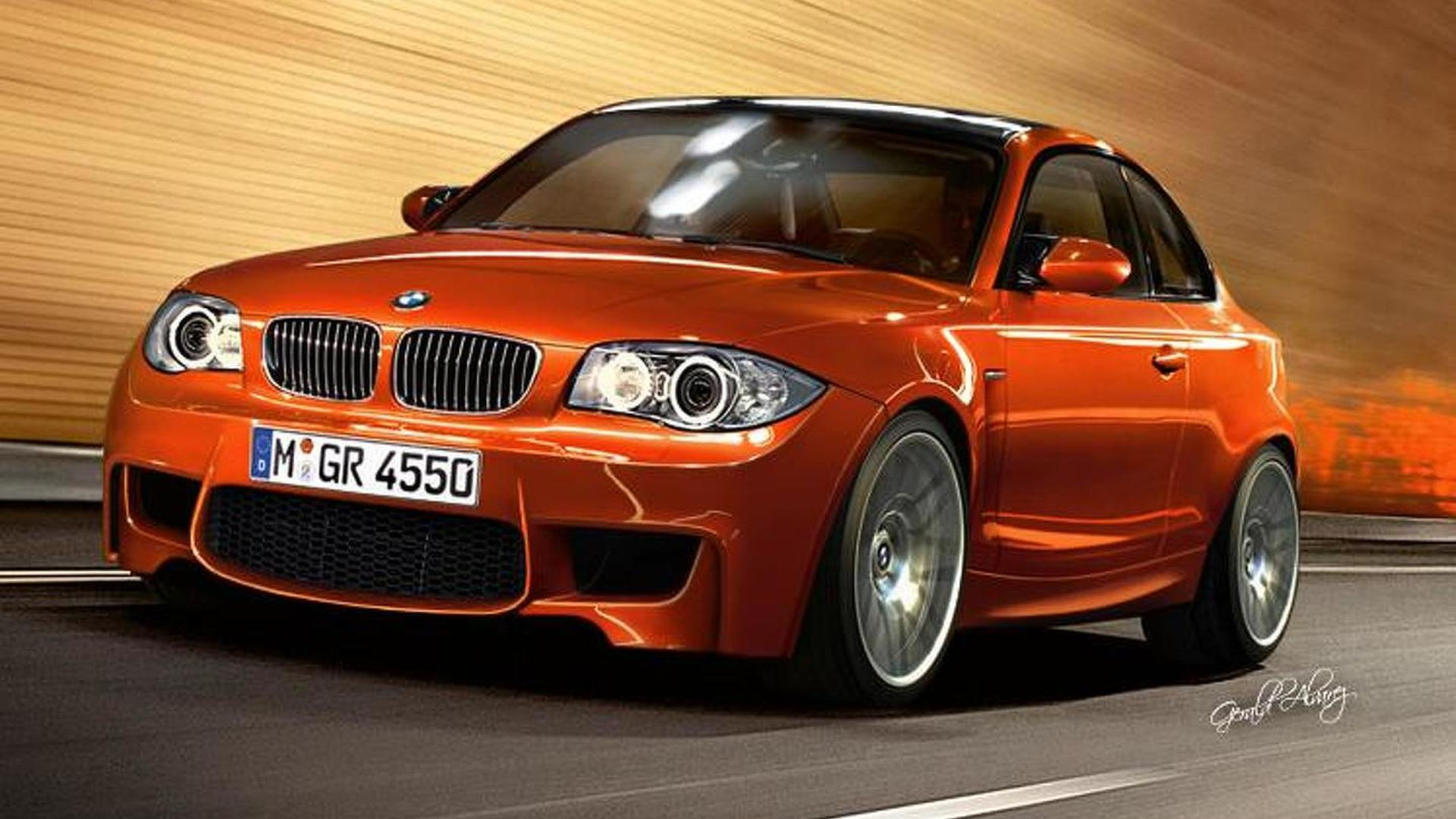 2011 BMW 1-Series M Coupe rendered
