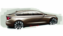 BMW 5-Series GT Concept Sketch