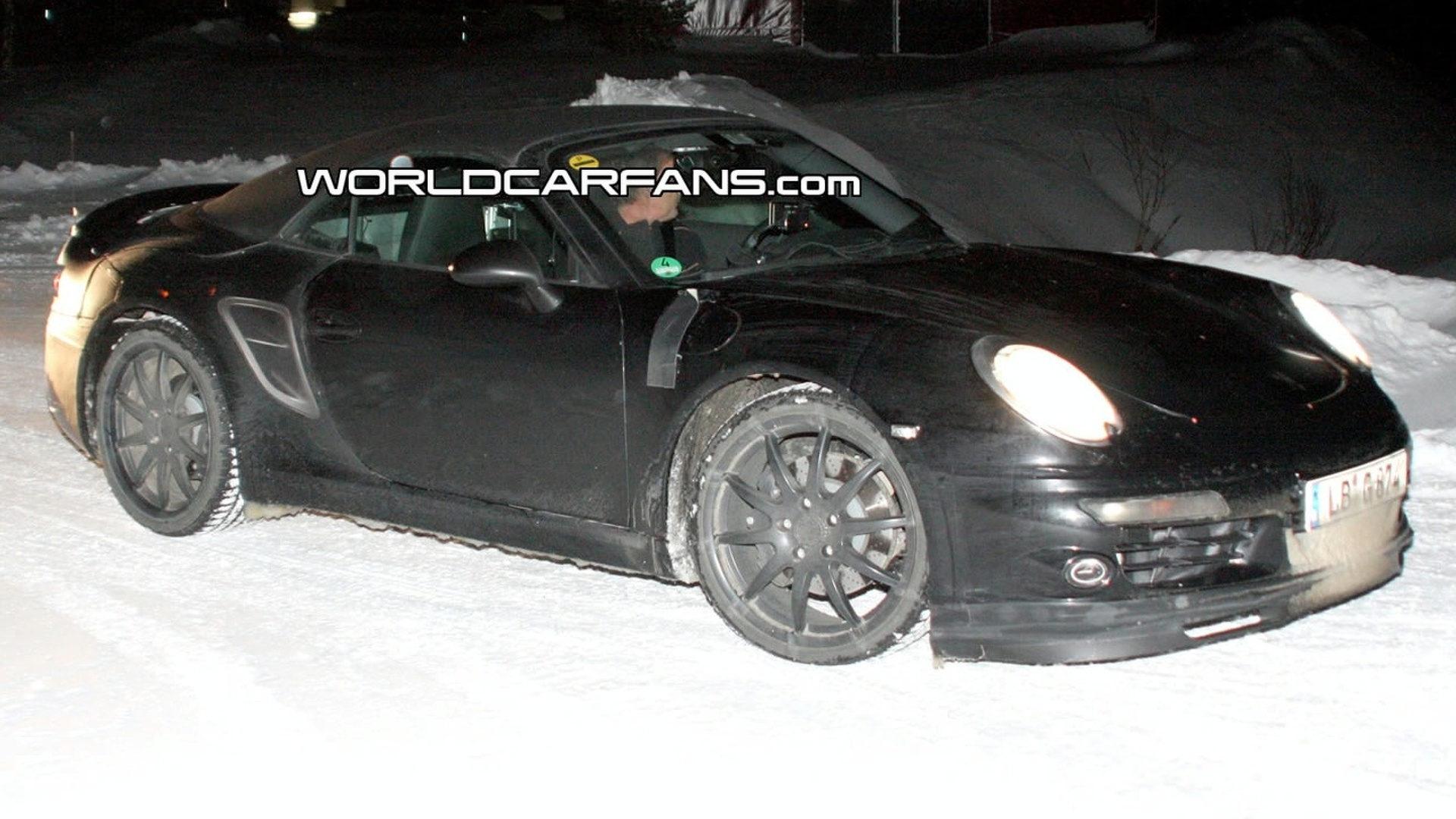 Porsche 911/998: First time on video