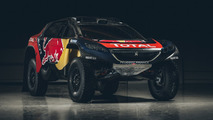 Peugeot 2016 Dakar racer revealed with new body shape and livery [video]