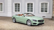 Carlsson turns S-Class Cabriolet into a mint chip ice cream