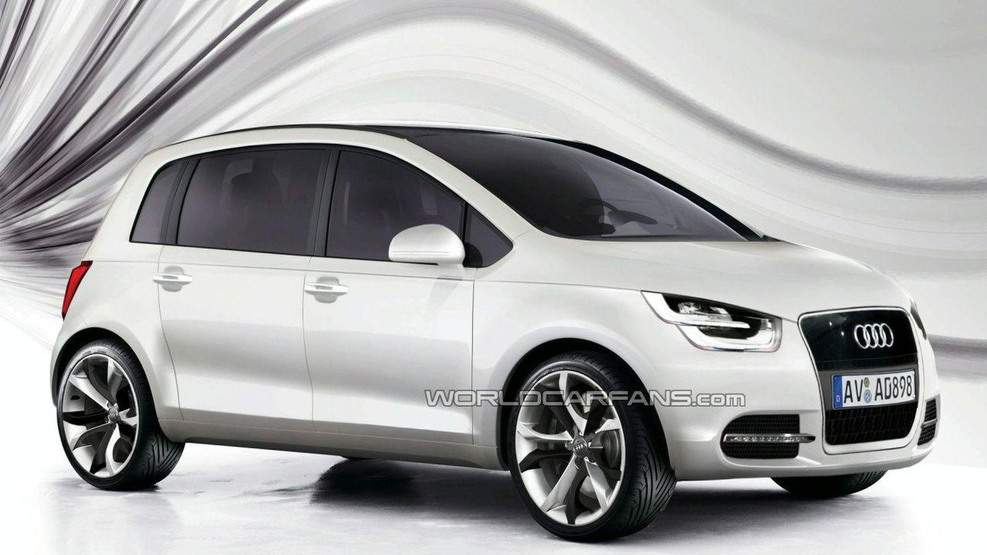 New Audi A2 Development Reaches Concept Car Stage