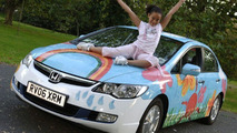 Honda Civic Hybrid One-Off Design by 9 Year Old