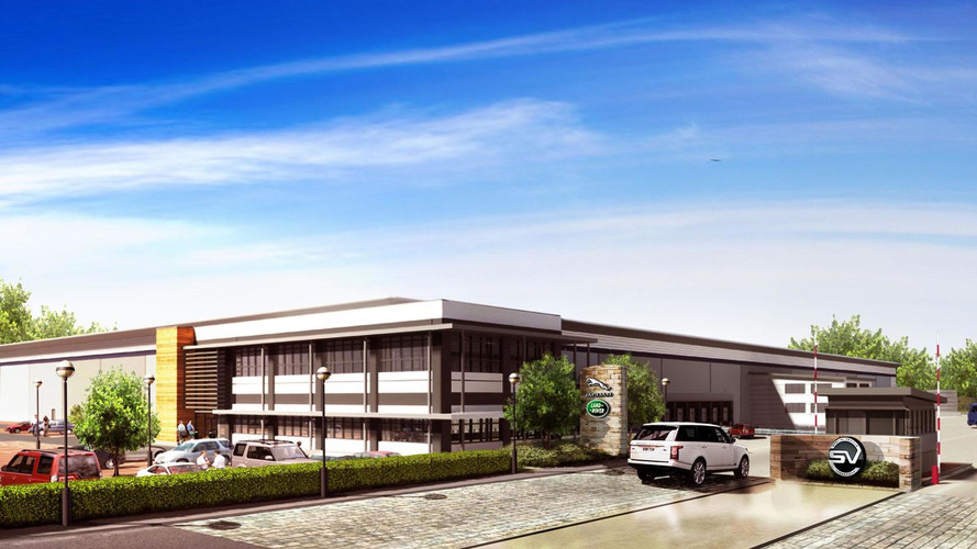 JLR previews their Special Vehicle Operations Technical Center