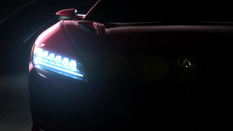 Acura NSX production version to finally debut at NAIAS next month, teaser images released