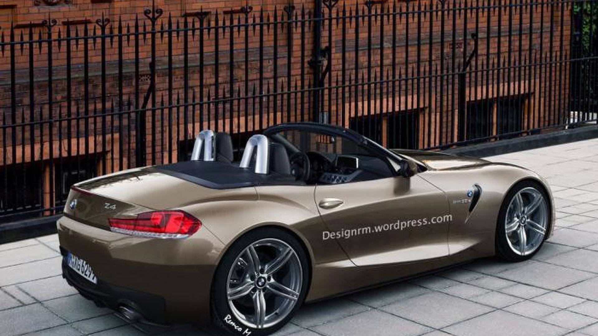Toyota 2017 Supra >> 2017/2018 BMW Z4 roadster imagined
