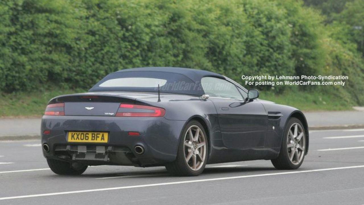 Spy Photos: Aston Martin V8 Roadster