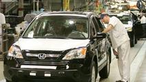 First US Made Honda CR-V, Rolls Off the Line