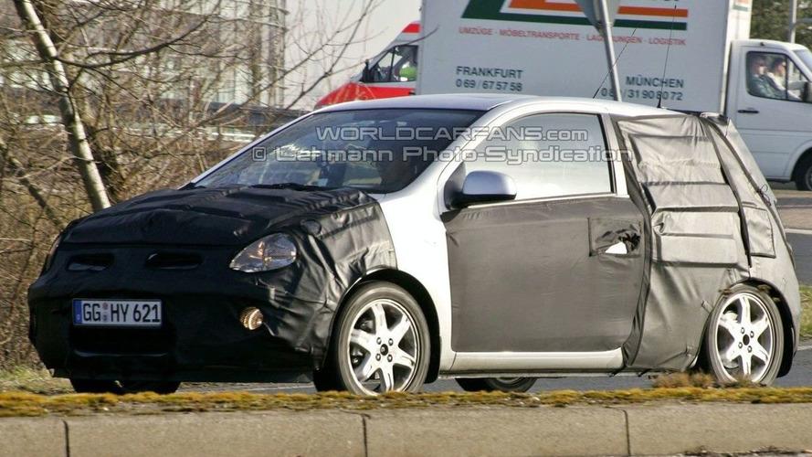 Hyundai i20 3-Door First Spy Photos