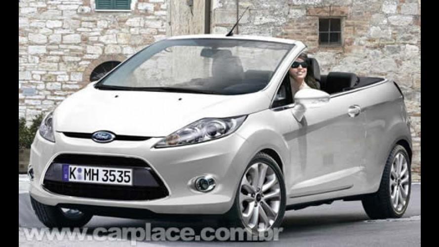 Novo Ford Fiesta Conversível - Versão pode ser mostrada no Salão de Moscou