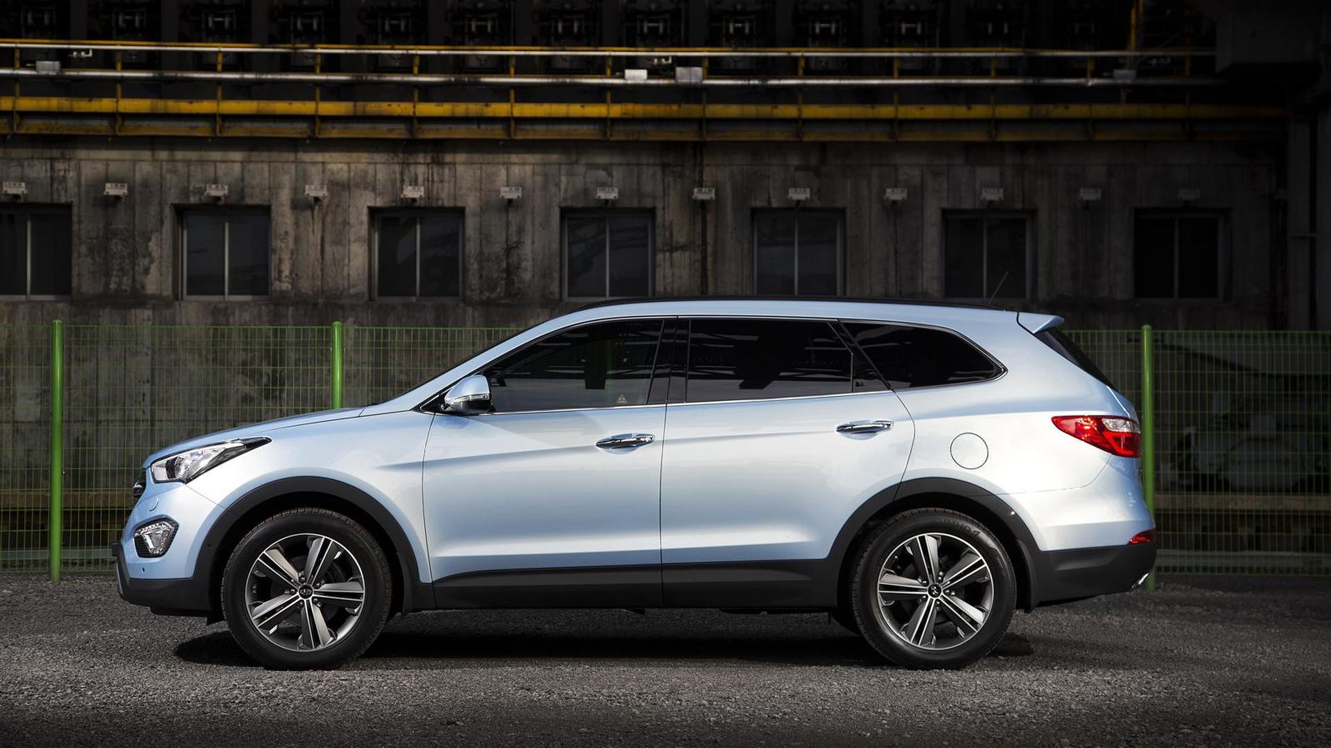 2013 Hyundai Grand Santa Fe set for Geneva debut