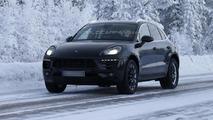 2014 Porsche Macan spy photo 16.1.2013 / Automedia