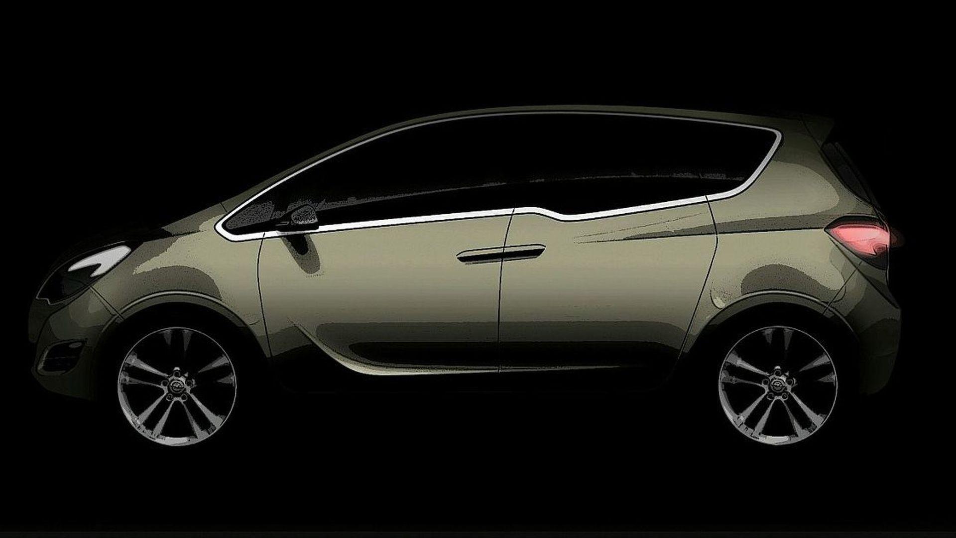 OFFICAL INFO: Opel Meriva Concept - World premiere: FlexDoors