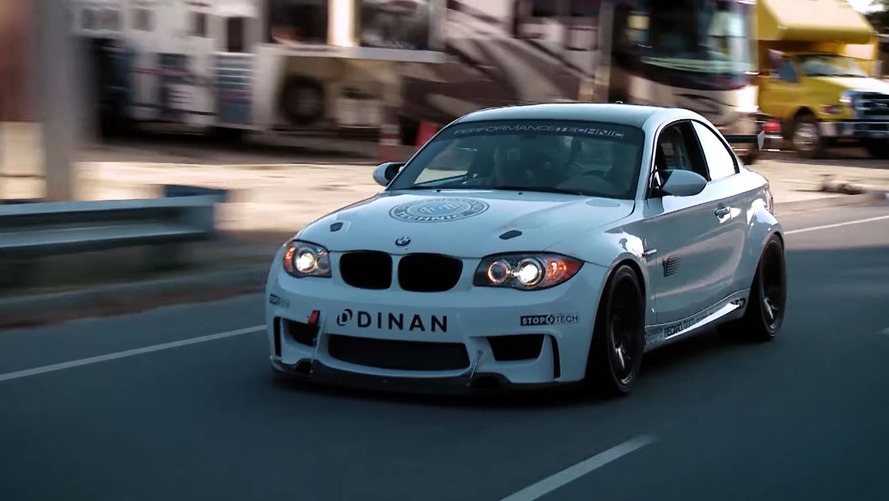BMW V8 1M conversion gets into Jay Leno's Garage