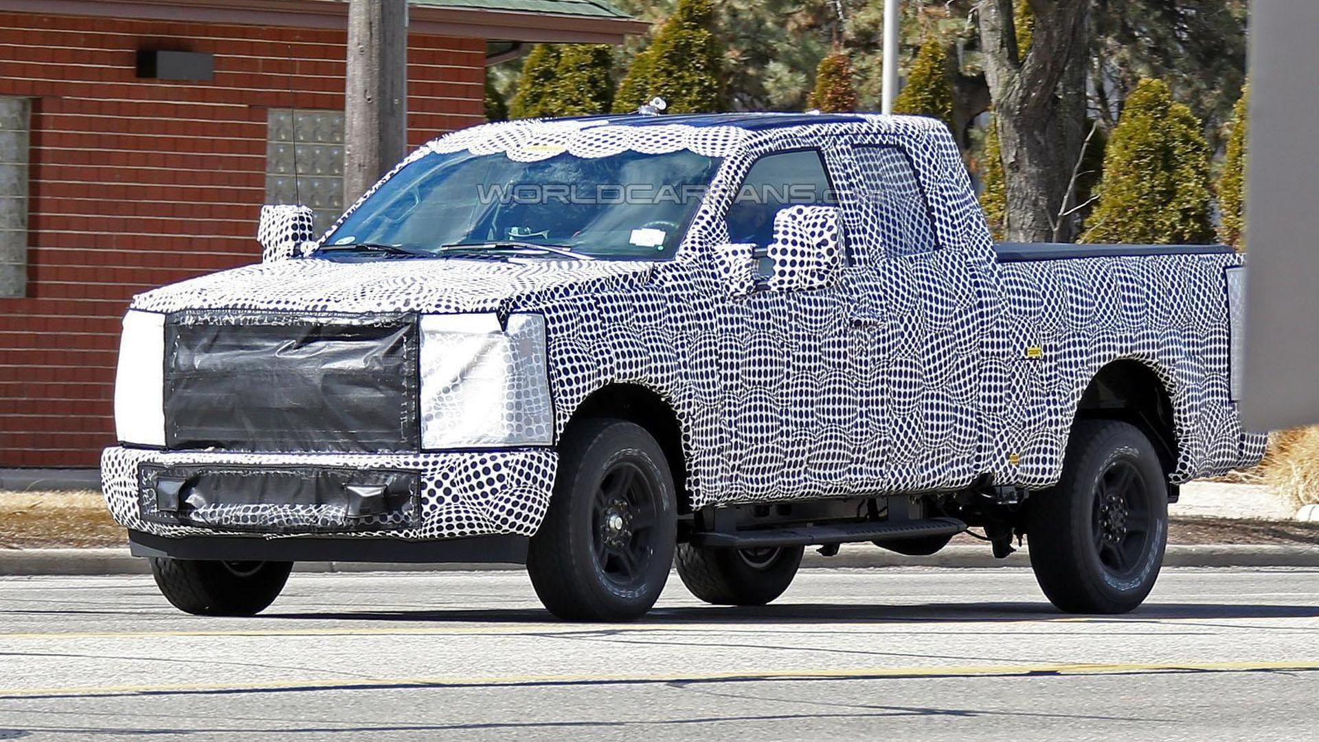 Several new Ford Super Duty trucks spied in Michigan