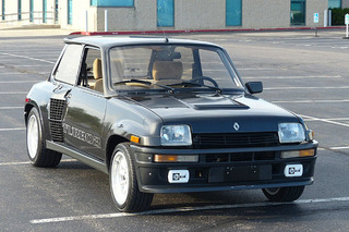 This Rare Renault 5 Has a Trunk Full of Turbo
