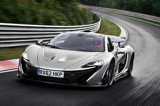 McLaren P1 Laps Nurburgring in