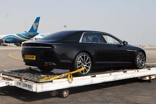 Aston Martin Lagonda Breaks Cover in Oman