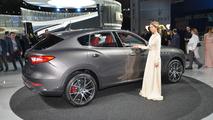 2017 Maserati Levante live in New York