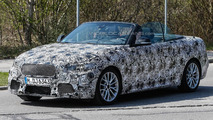 BMW 2-Series Convertible spied with the top down