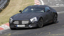 Mercedes-Benz SLC spied testing again at Nurburgring