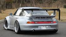 RAUH-Welt Begriff super wide body Porsche 911s for the street [video]