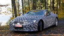 Lexus LF-LC spy photo
