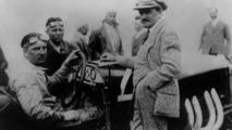 Ferdinand Porsche (right) at 1924 Targa Florio