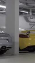 Porsche Cayman GT4 partially revealed [video]