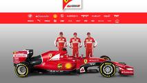 Ferrari and Sauber reveal 2015 cars