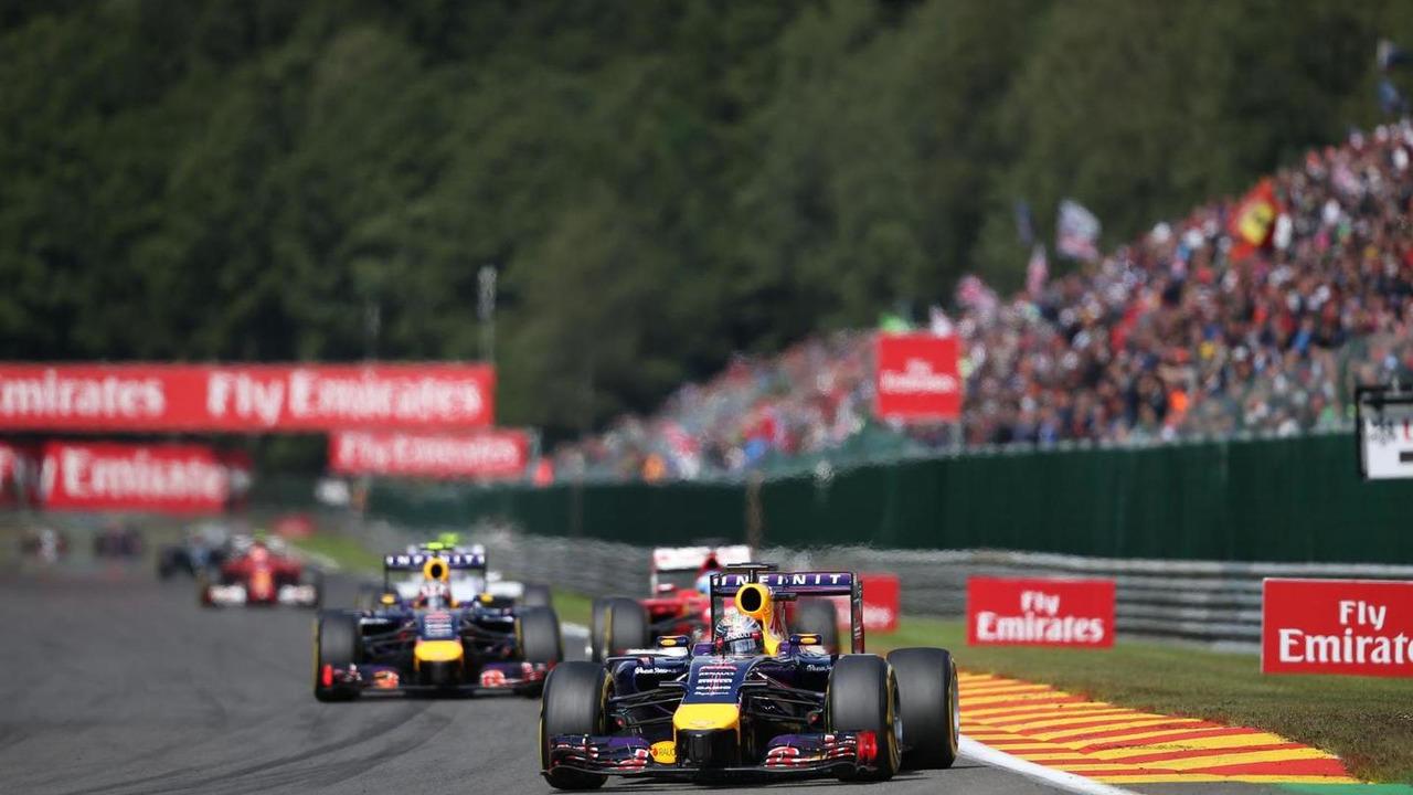 Sebastian Vettel (GER), 24.08.2014, Belgian Grand Prix, Spa Francorchamps / XPB