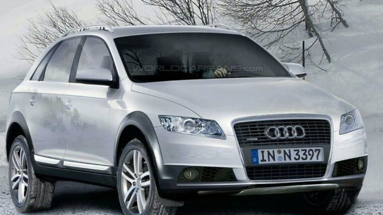 Audi Q5 Spy Illustrations