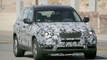 BMW X3 Spied Testing in Death Valley