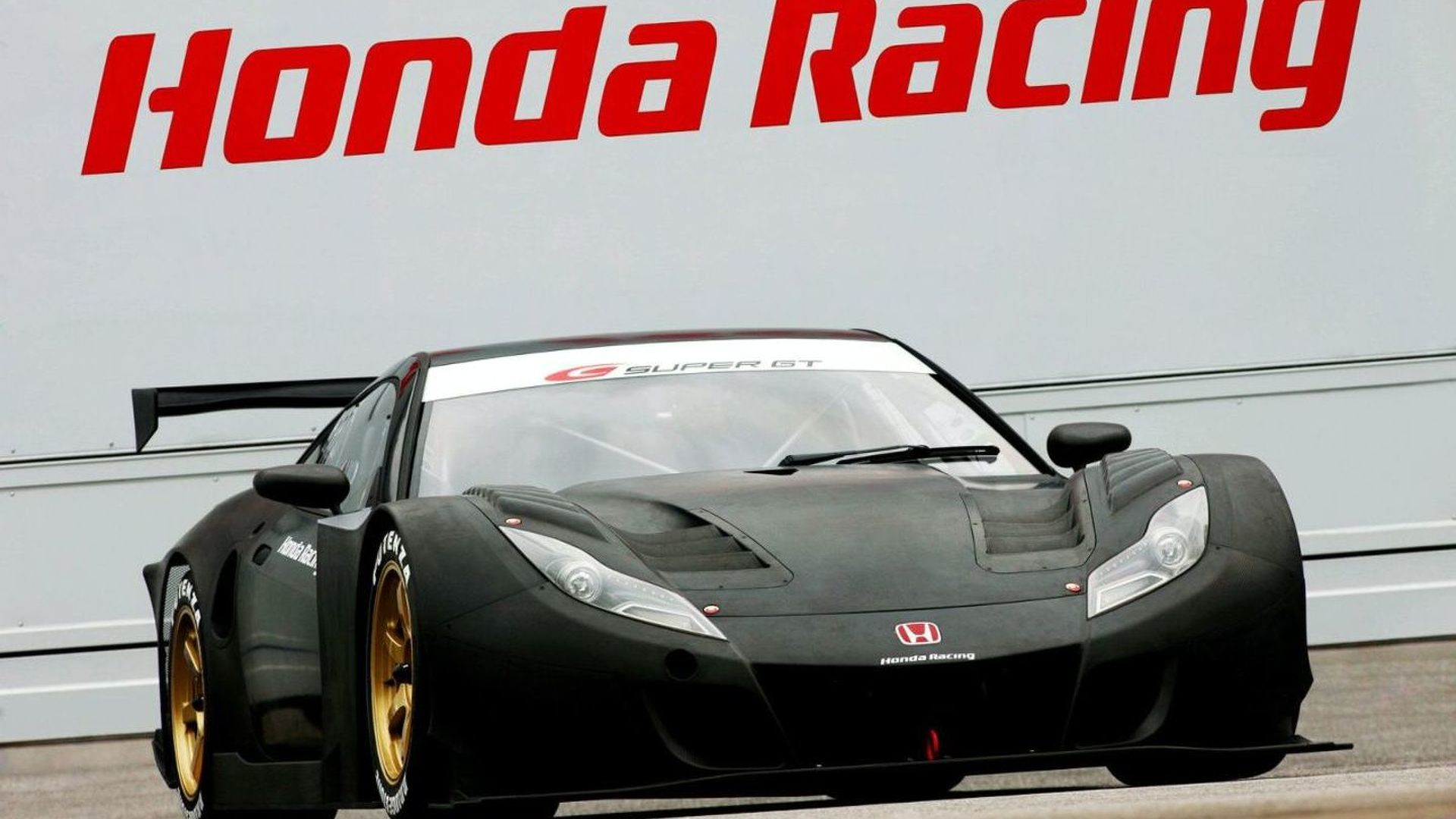 Honda HSV-010 GT Announced as NSX Replacement in Japan's 2010 Super GT Race Series