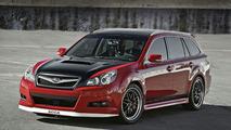 Subaru Legacy GTk Sport/Track Wagon Concept Ready for SEMA