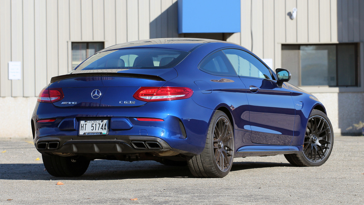 2017 Mercedes-AMG C63 S Coupe Review: The snazzy lunatic