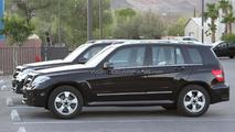 2012 Mercedes-Benz GLK facelift spied 20.07.2011