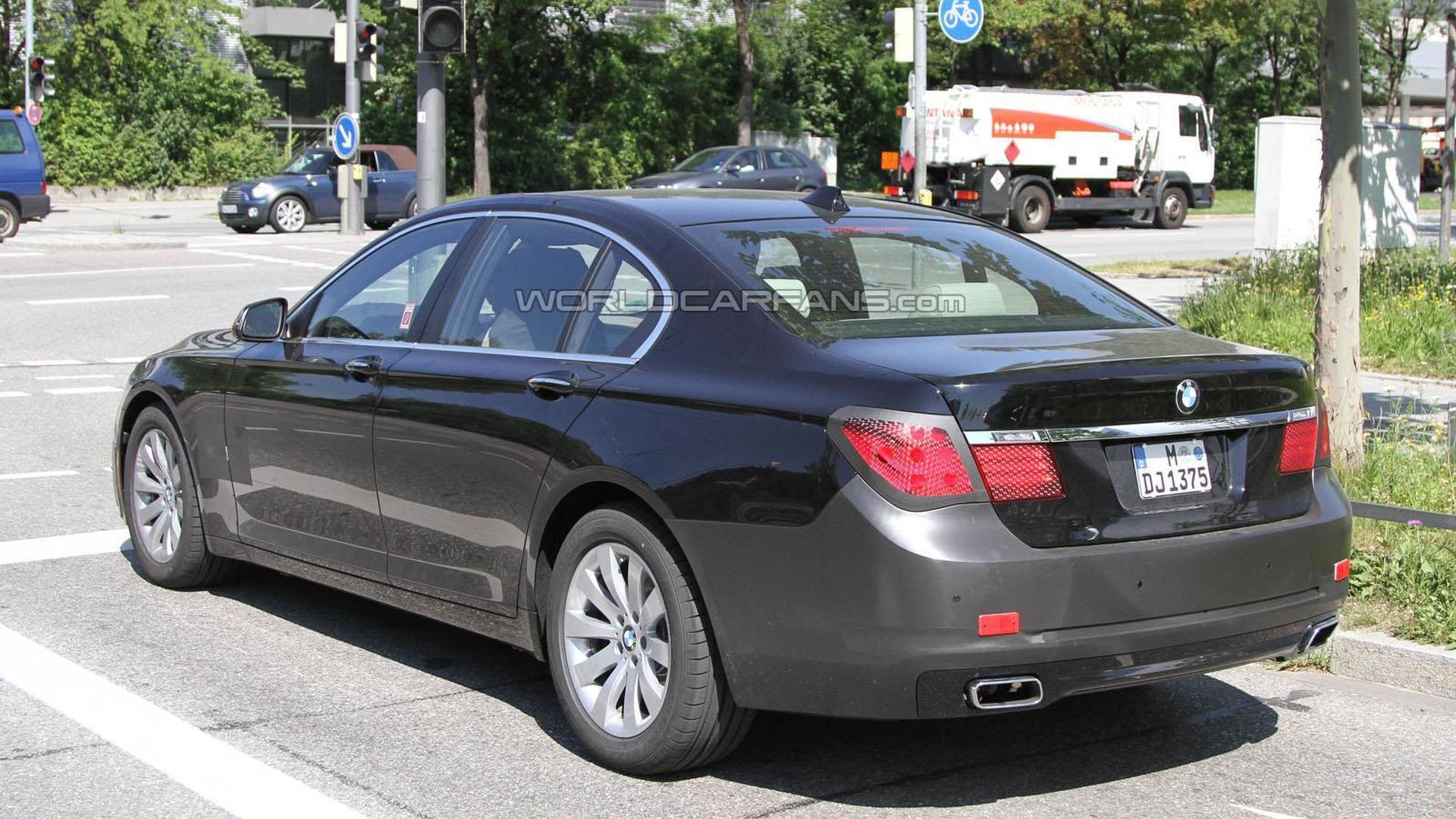 2012 BMW 7-Series facelift caught for a second time