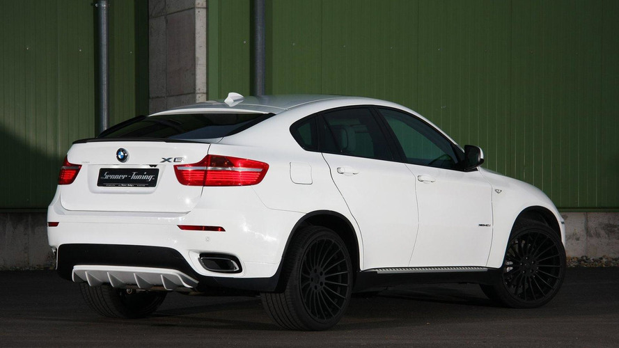 BMW X6 xDrive40d warmed over by Senner Tuning