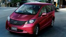 Honda Presents A Grown-Up Jazz/Fit, The Freed Minivan