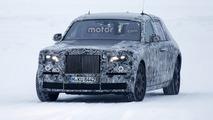 2018 Rolls-Royce Phantom spied in Lapland