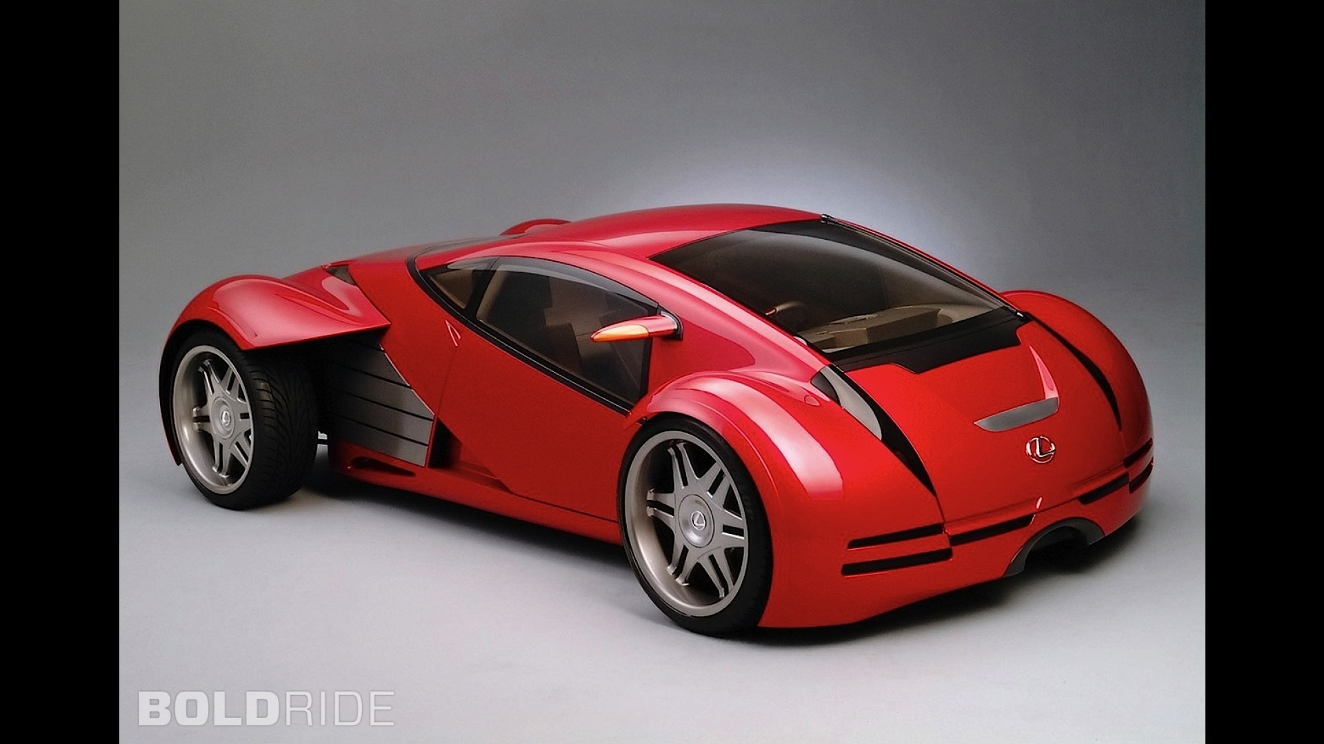 Lexus Minority Report Sports Car