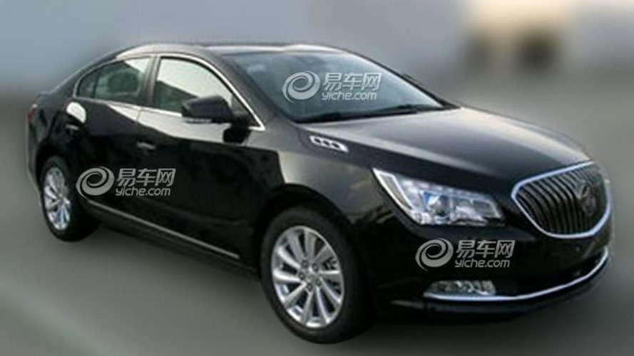 2014 Buick LaCrosse spotted in China