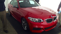 BMW M235i Coupe leaked from dealer presentation