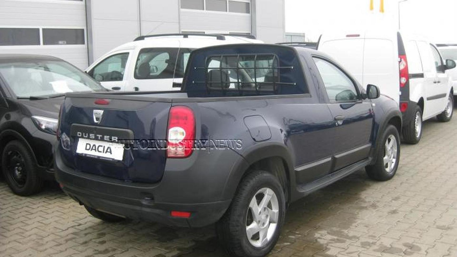 Dacia Duster transformed into a pick-up by a Romanian coachbuilder