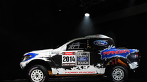 Ford to compete at 2014 Dakar with two Rangers