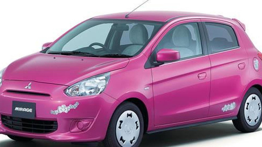 Mitsubishi Mirage Hello Kitty special edition announced for Japan